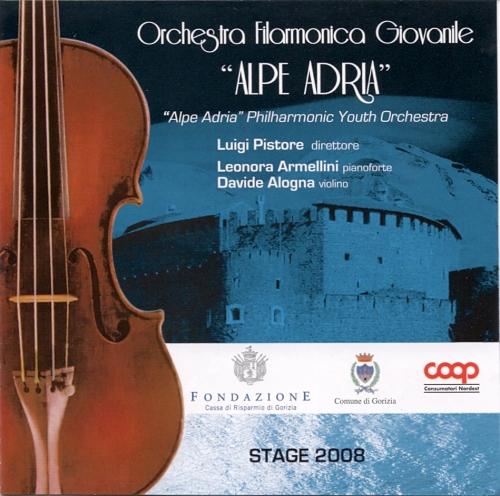 Leonora Armellini Discography_Mozart, Orchestra dell'Alpe Adria, Luigi Pistore