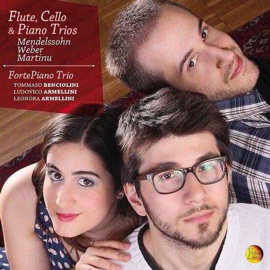 Leonora Armellini Discography_FortePiano Trio_Flute, Cello & Piano Trios