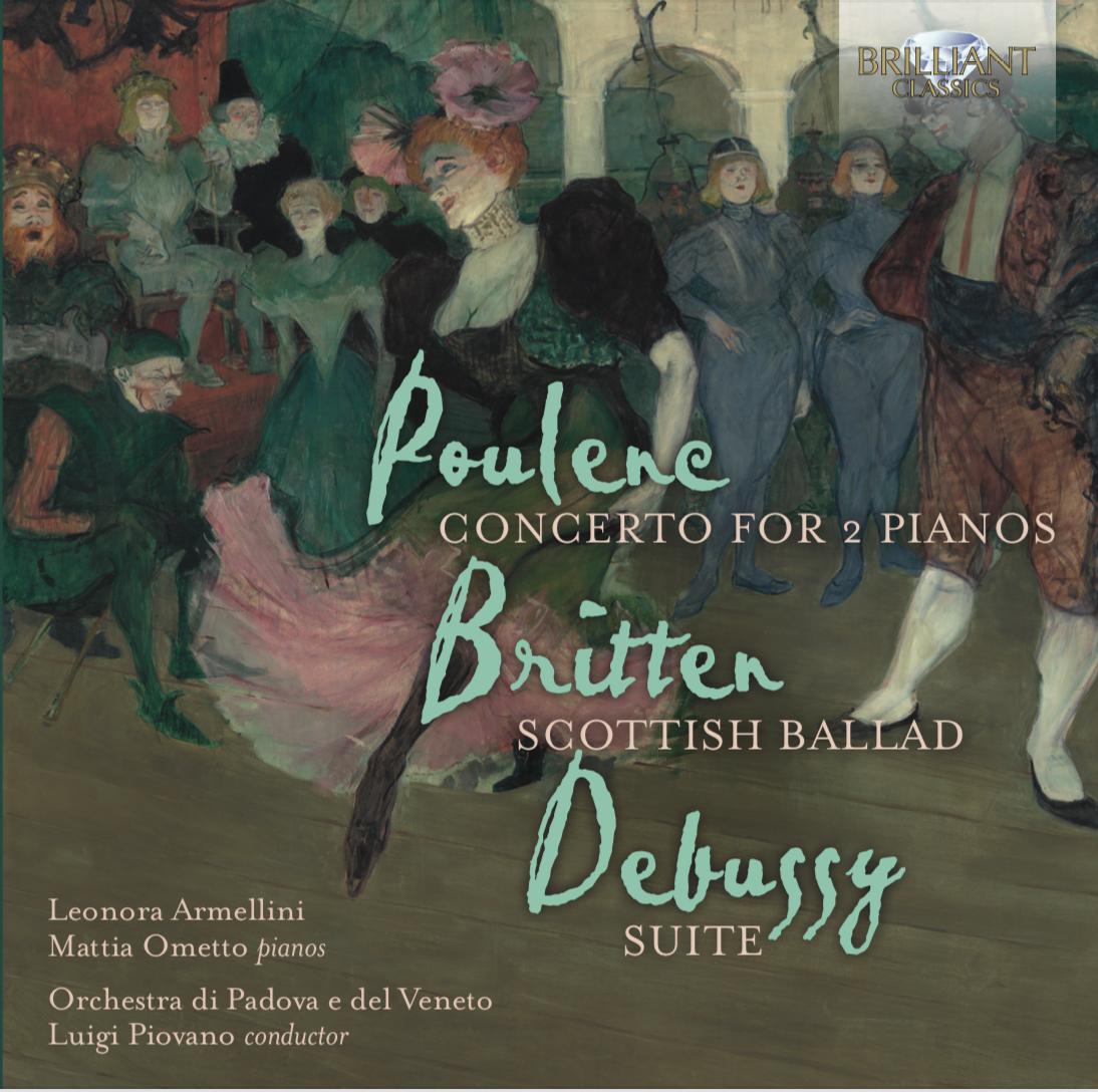 Leonora Armellini Discography_Duo Pianistico di Padova_Poulenc Britten Debussy
